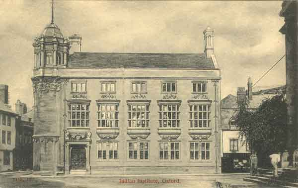 Postcard of Indian Institute