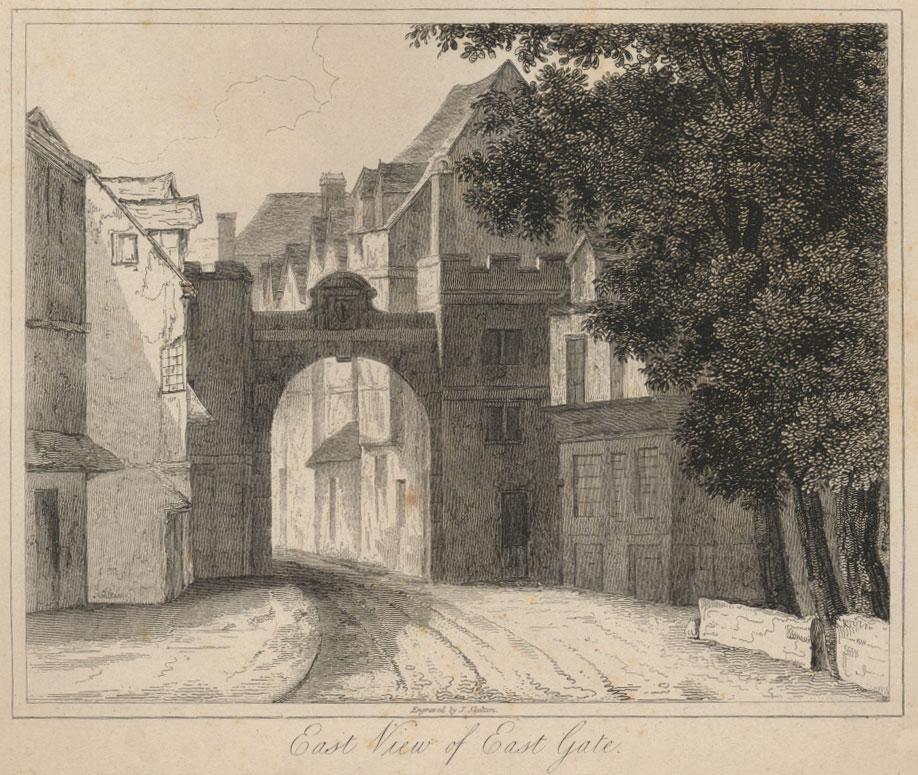 Oxford City Wall