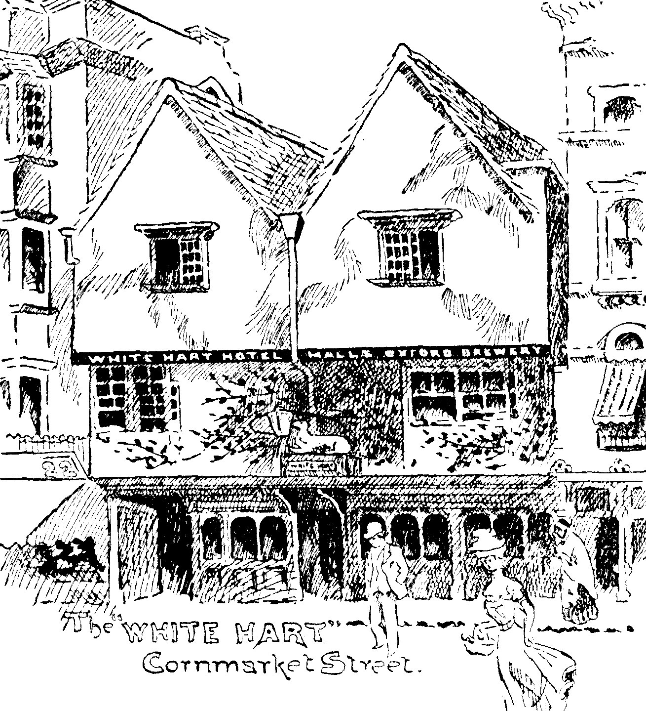 White Hart Hotel, JOJ 15 July 1899