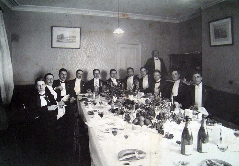 CTC at the Clarendon in 1905