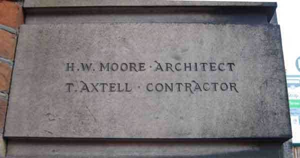 Moore & Axtell stone
