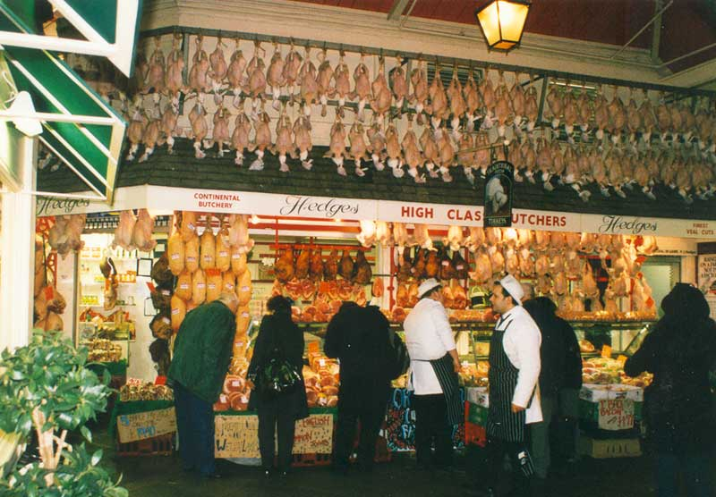 Market at Christmas