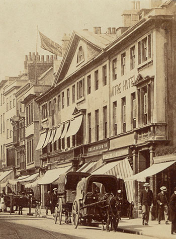 The Market in 1904