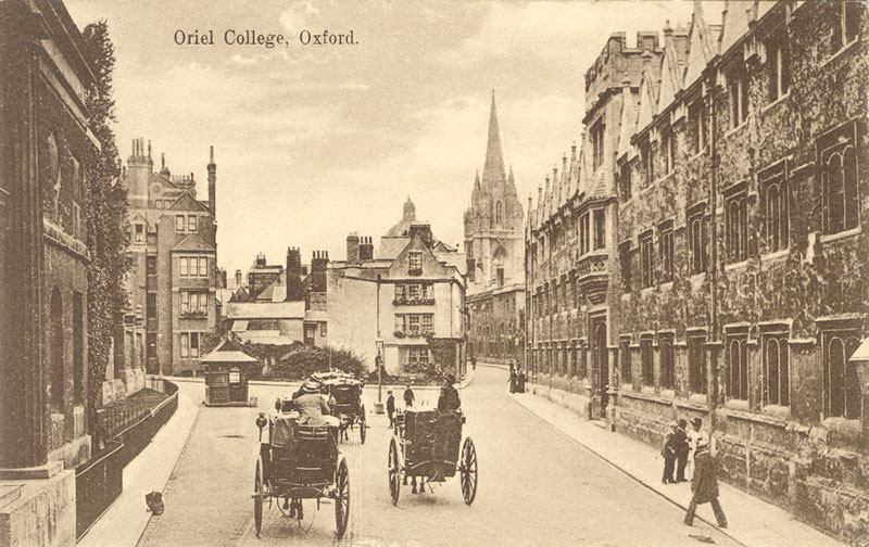 Oriel Street and carriages