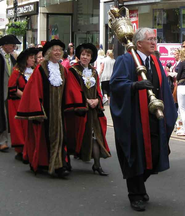 Oxford History: Mayors & Lord Mayors