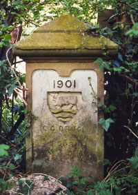 Boundary stone in Headington