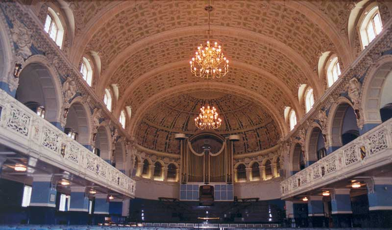 Interior of Town Hall in 2004