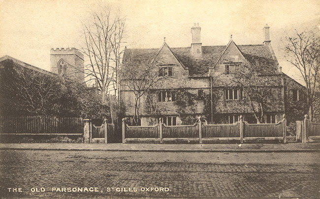 Old Parsonage, Banbury Road