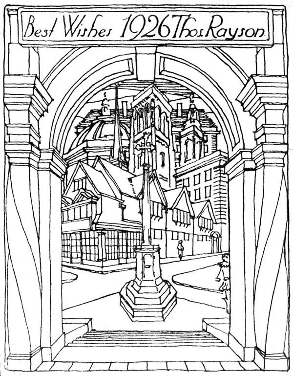 Oxford War Memorial St Giles